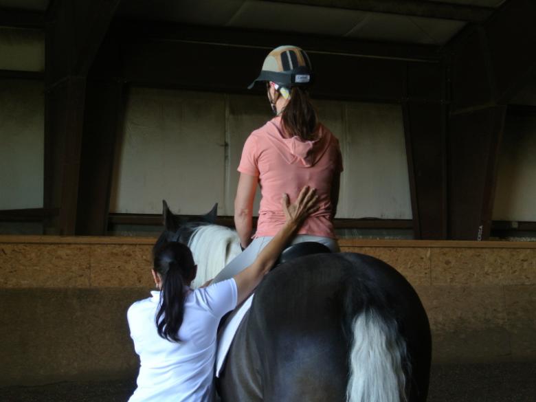 Pilates am Pferd